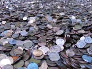 Coins by Joe Shlabotnik