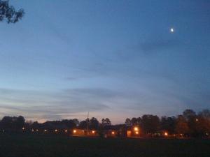Sunrise at School