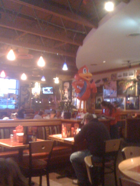 Checked in at Red Robin Gourmet Burgers