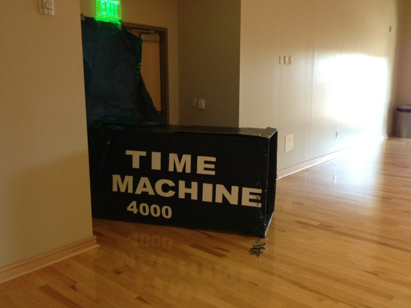 Time Machine 4000 is ready…