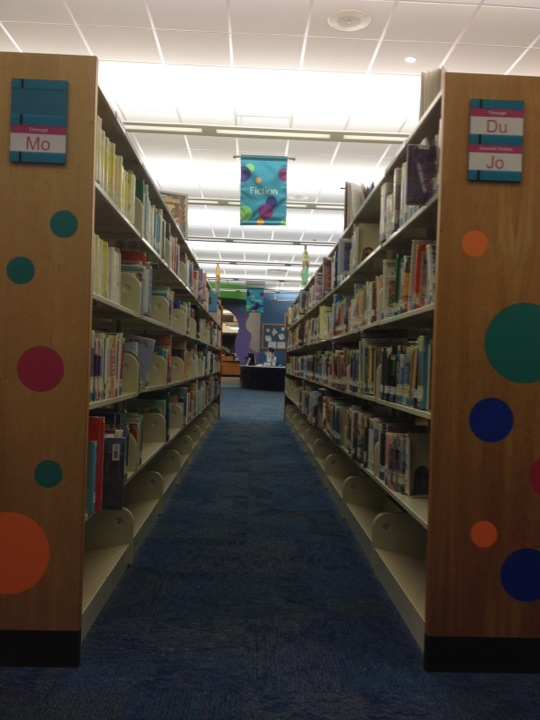 Checked in at Twin Hickory Area  Library