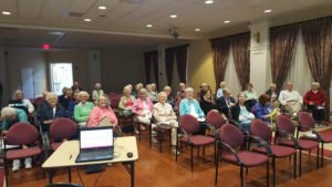 Talking library with seniors https://t.co/NCK74zoqgR https://t.co/aKTU9lShDQ